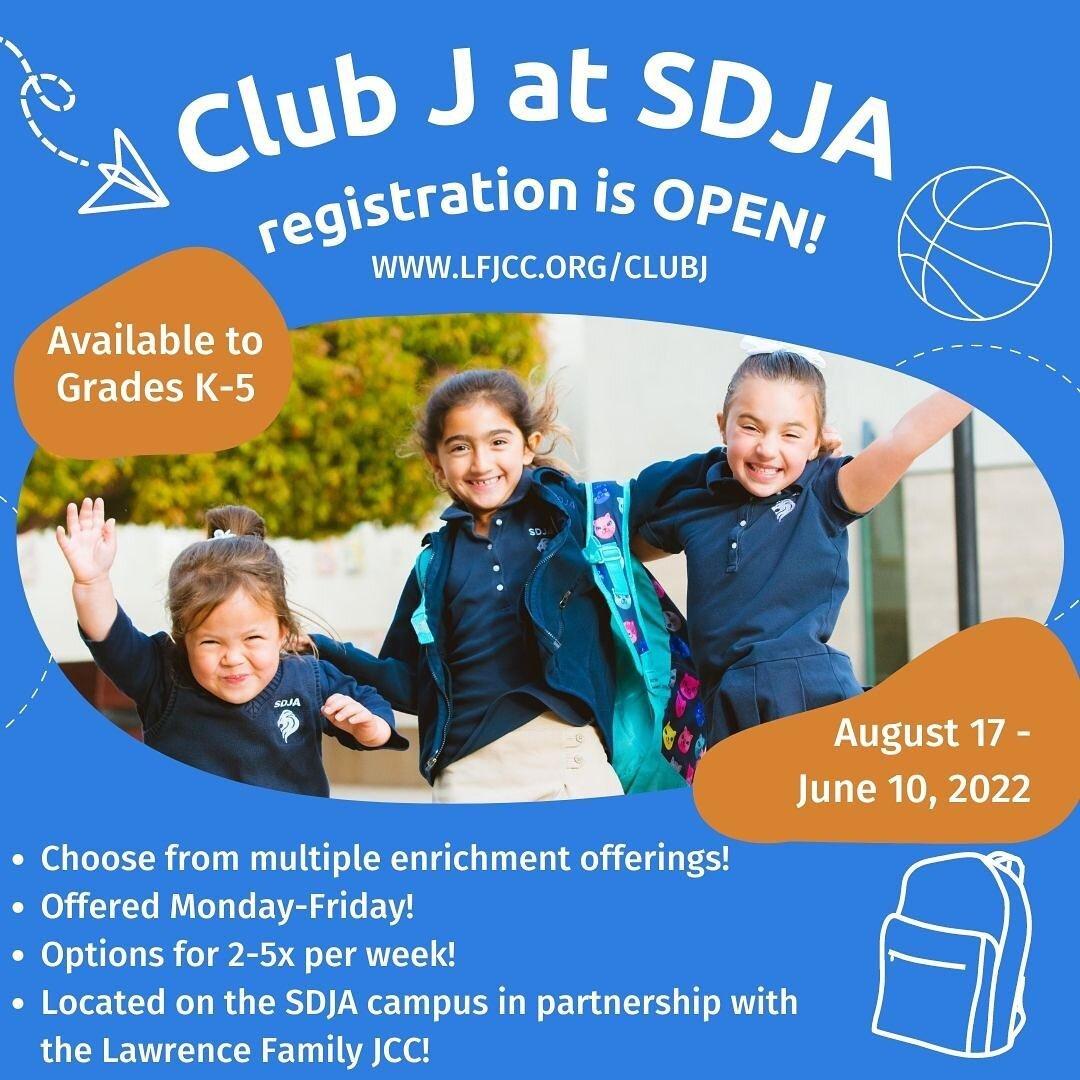 不要错过AG娱乐与当地@lfjcc合作的这个令人兴奋的新节目 ! SDJA J俱乐部将为果尔达梅厄小学的学生提供丰富而有趣的课外课程和活动. 尽快注册以确保你的位置! bio中的注册链接.