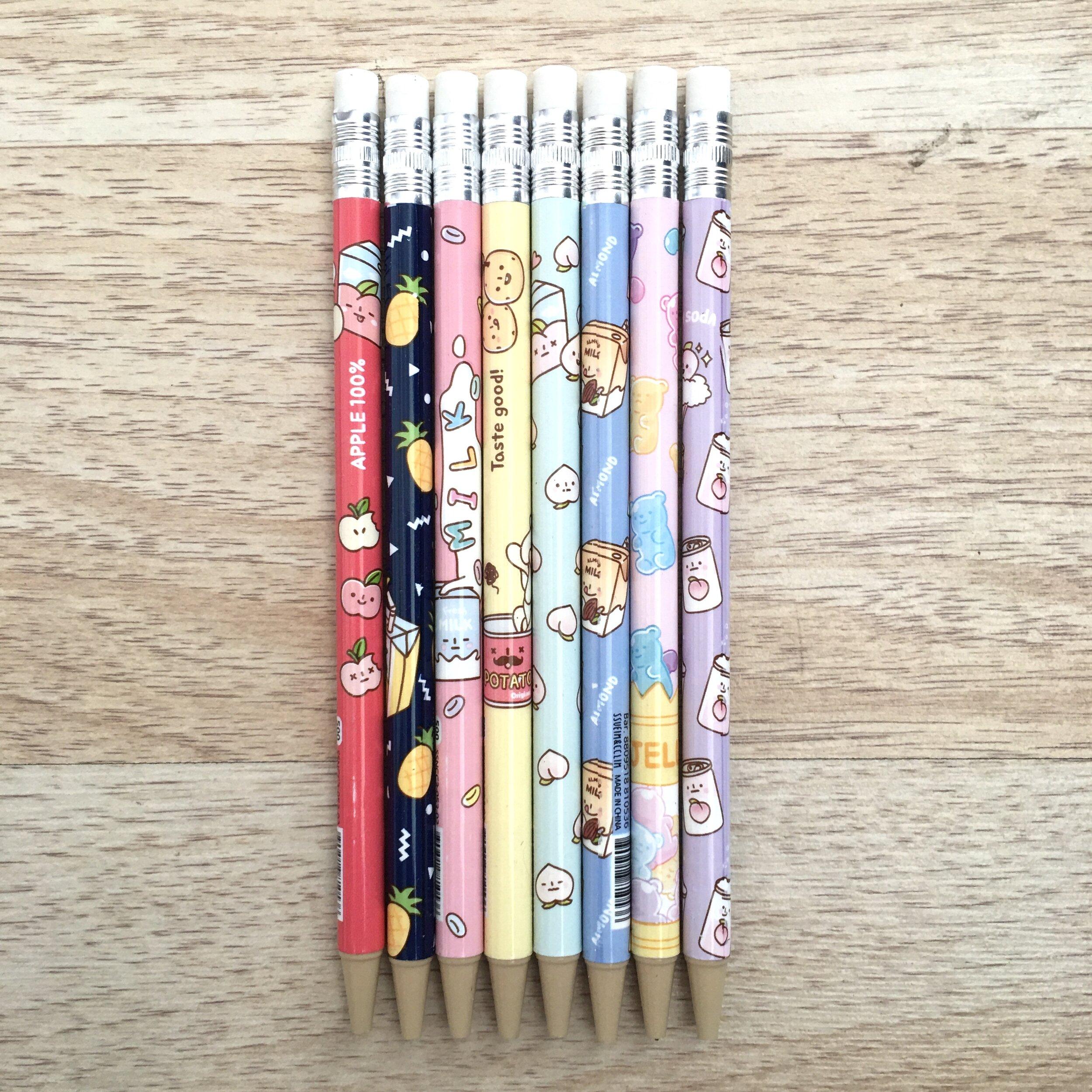 kawaii supermarket foodies 0 5mm mechanical pencil moshi moshi gifts stationery co