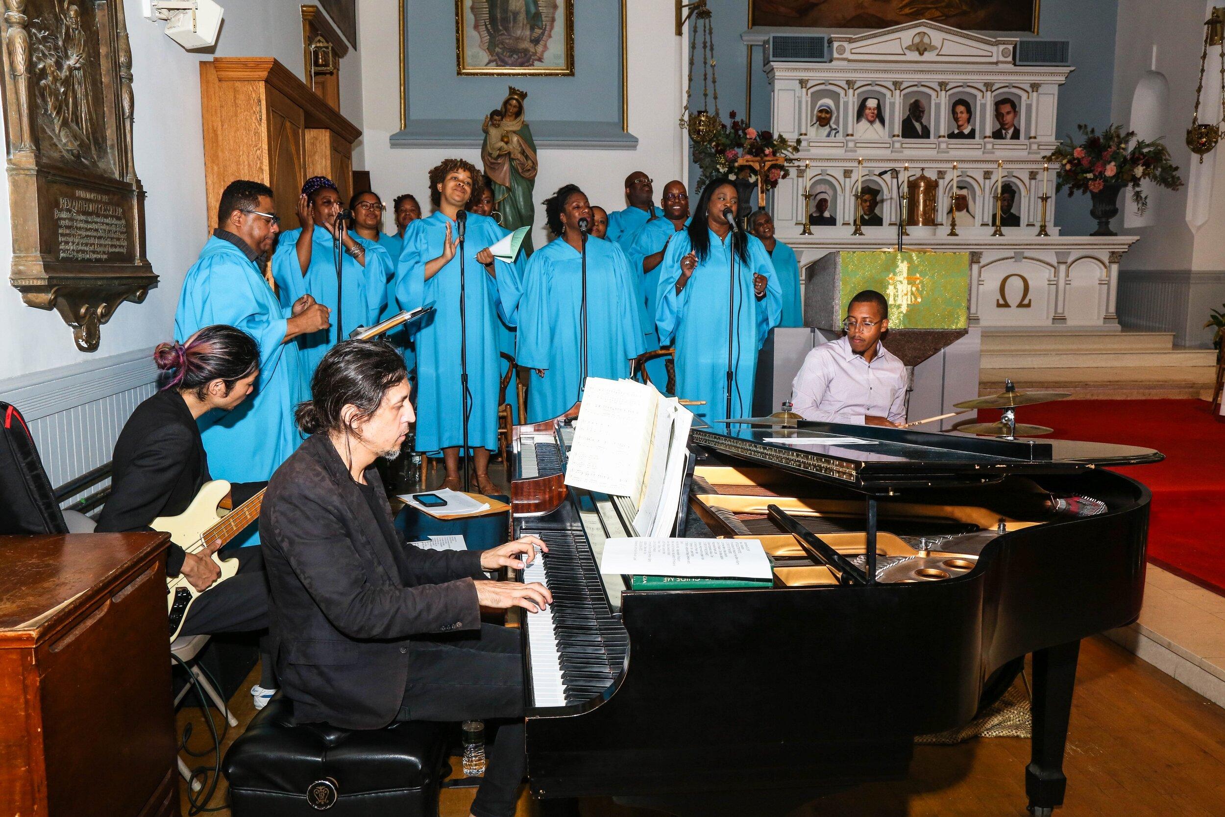 St. Joseph of the Holy Family Catholic Church Award Winning Gospel Choir in Harlem New York City - 60.jpg