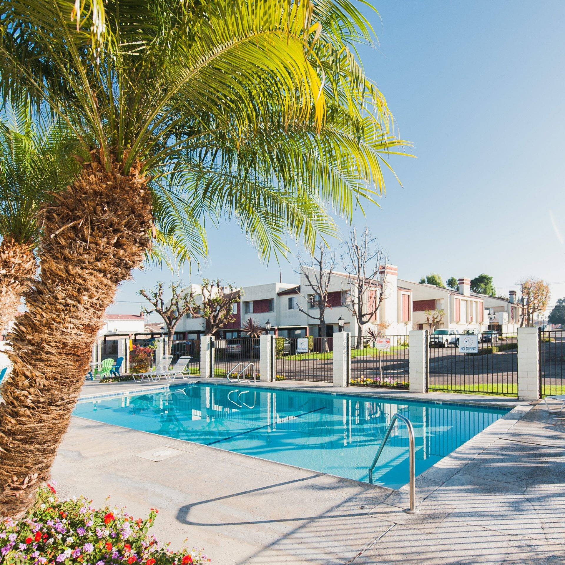Cypress Townpark Apartments - The Cypress Townpark Apartments feature 75 two-story townhouses surrounding a community pool and patio. Each townhouse is designed to feel private, and the tree-studded property is located in a peaceful neighborhood nearby to highly-rated schools.