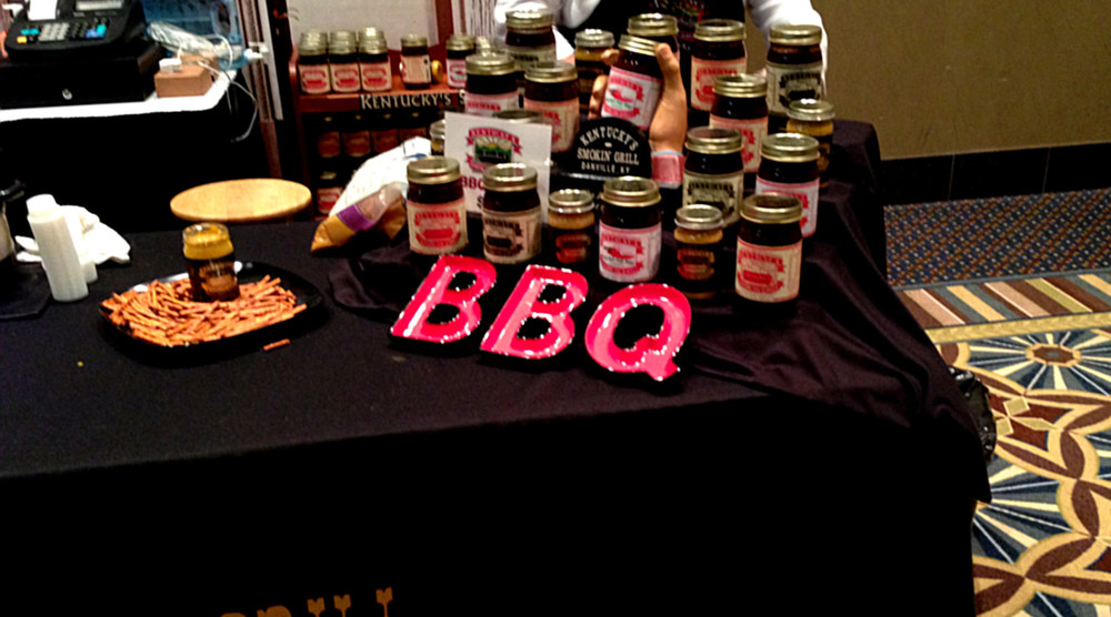 An example food table from Alltech Craft Brews and Food Fest 2014