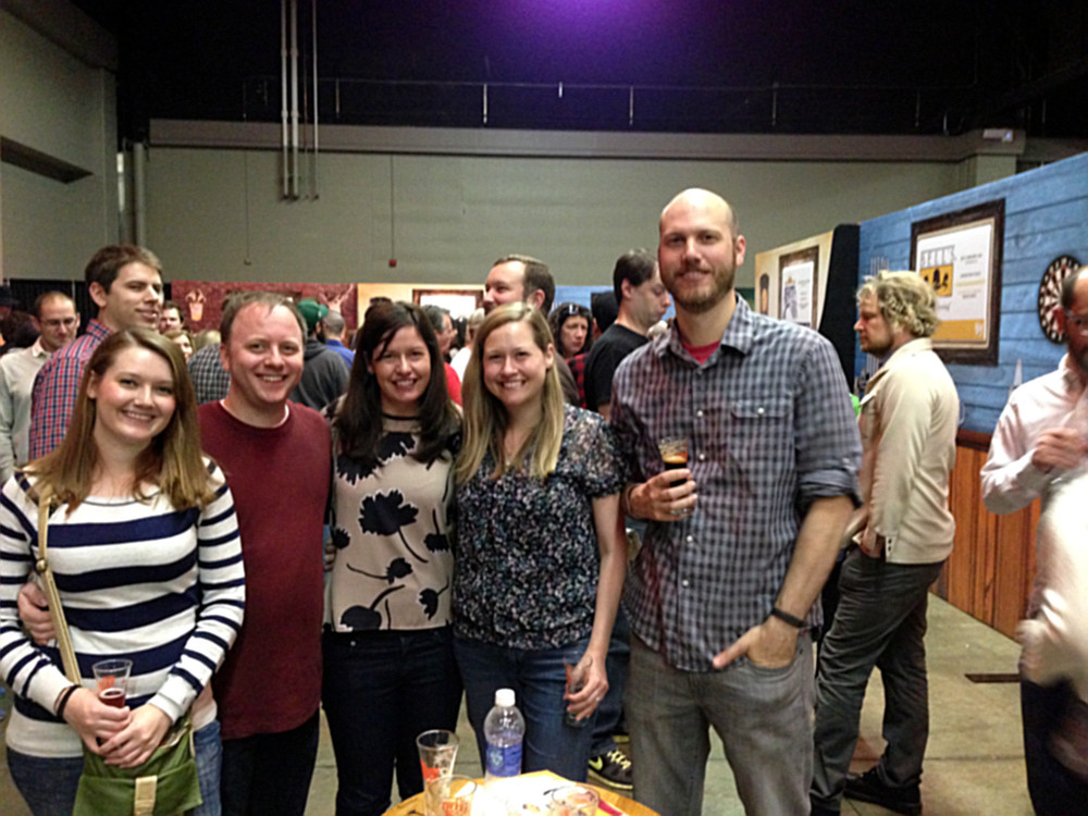 Group shot fromAlltech Craft Brews and Food Fest 2014