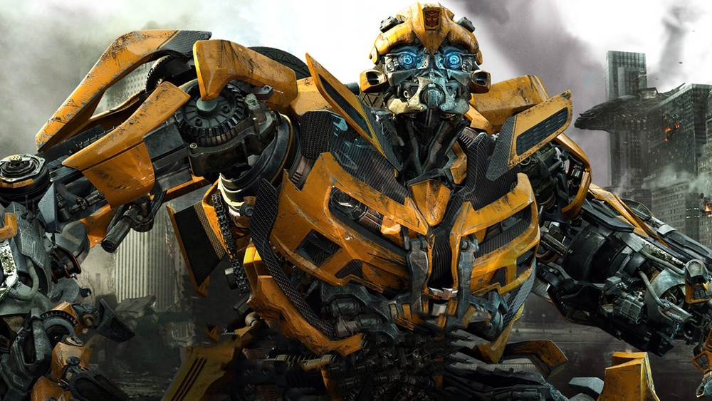 Bumblebee in Transformers: Age of Extinction / via Paramount