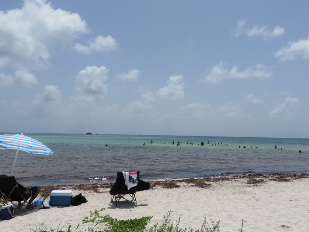 One of the beaches at Bahia Honda State Park in the Florida Keys.