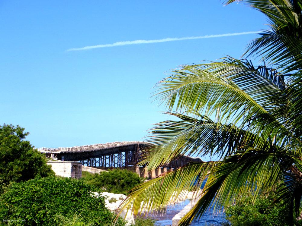 Old bridge near Big Pine Key, FL.