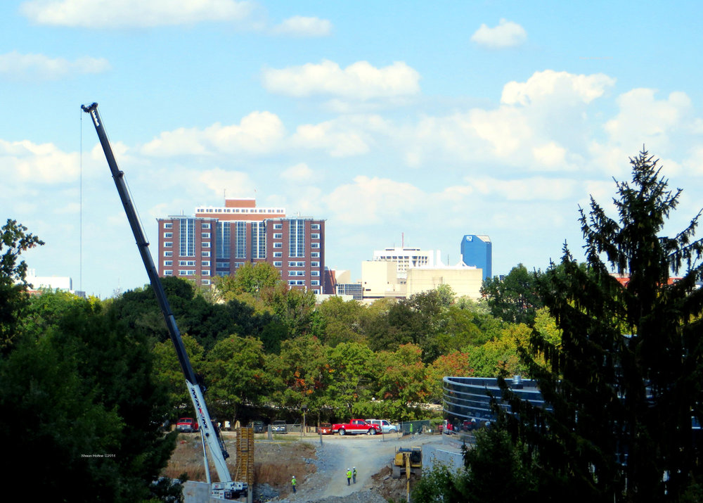 Seems like Lexington is always being remade these days. Baptist Hospital Lexington, KY. Canon SX280 HS