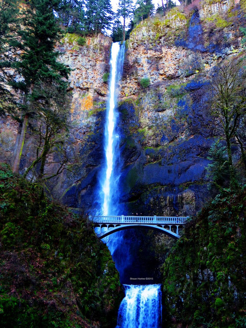 Multnomah Falls. March 1st, 2015