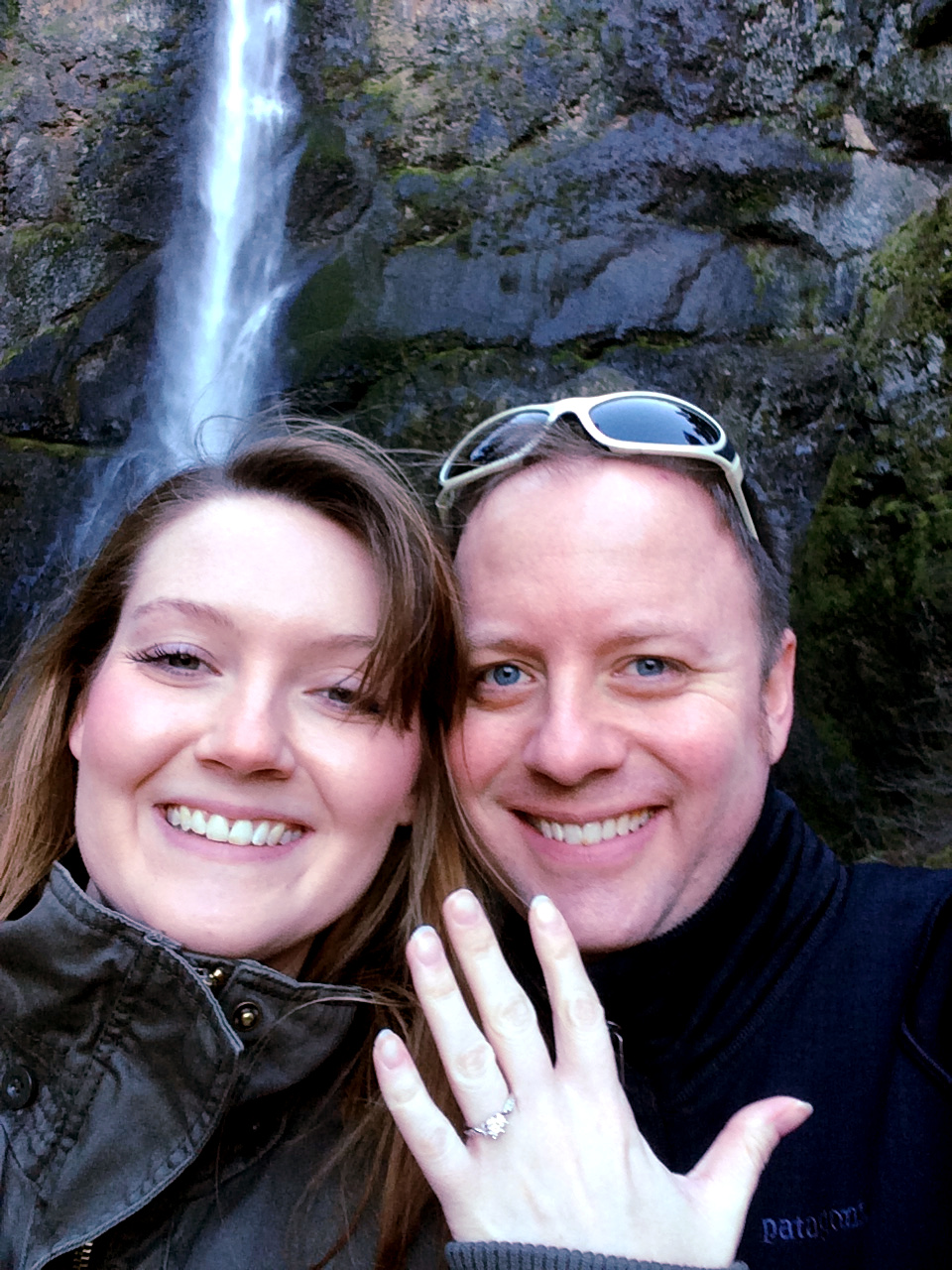 That's Aeriel and me and we're officially engaged!! March 1st, 2015