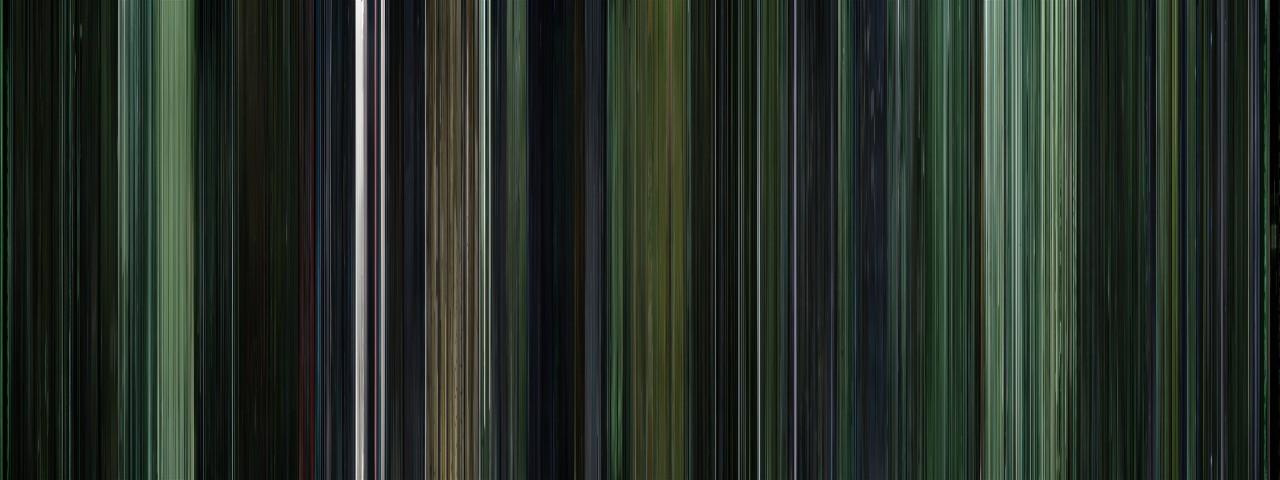 moviebarcode :      The Matrix (1999)