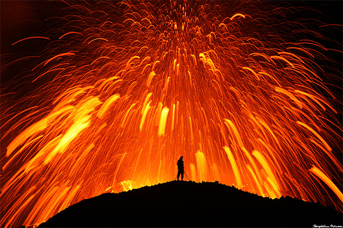Flickr: Volcano in Iceland