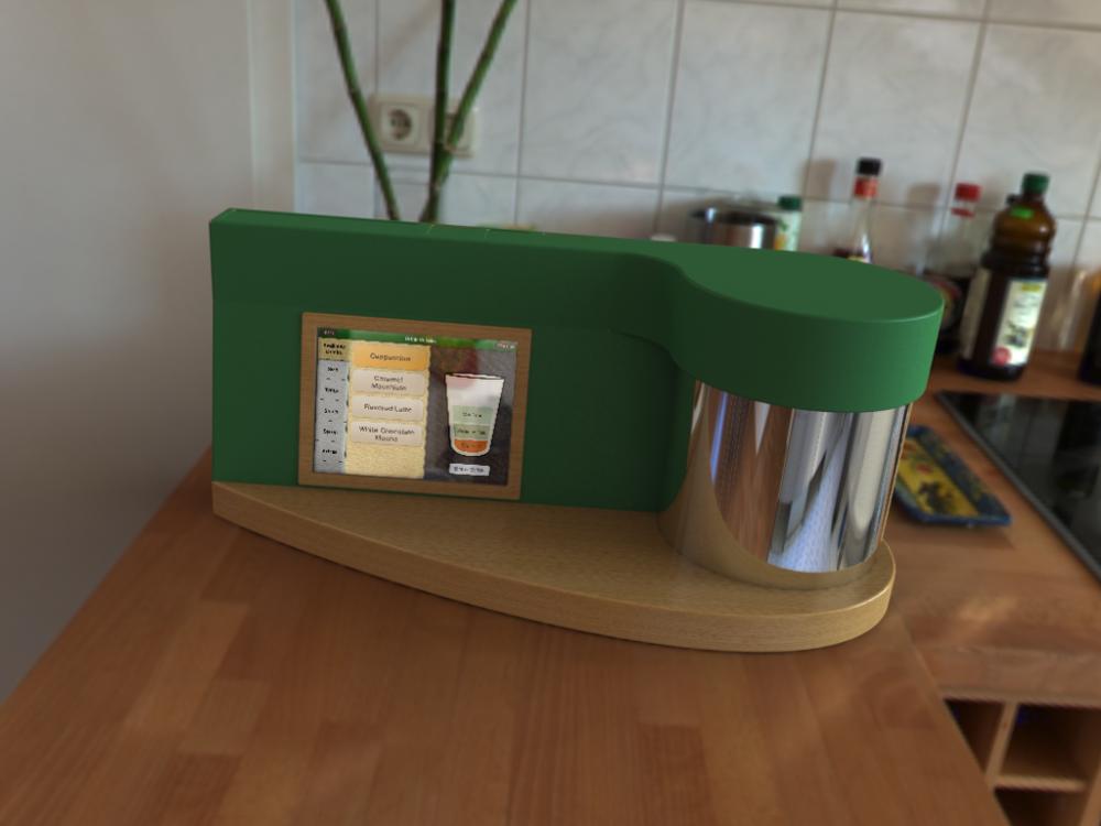 Coffeemaker rendering