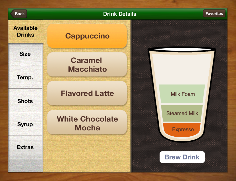 Brewing Interface