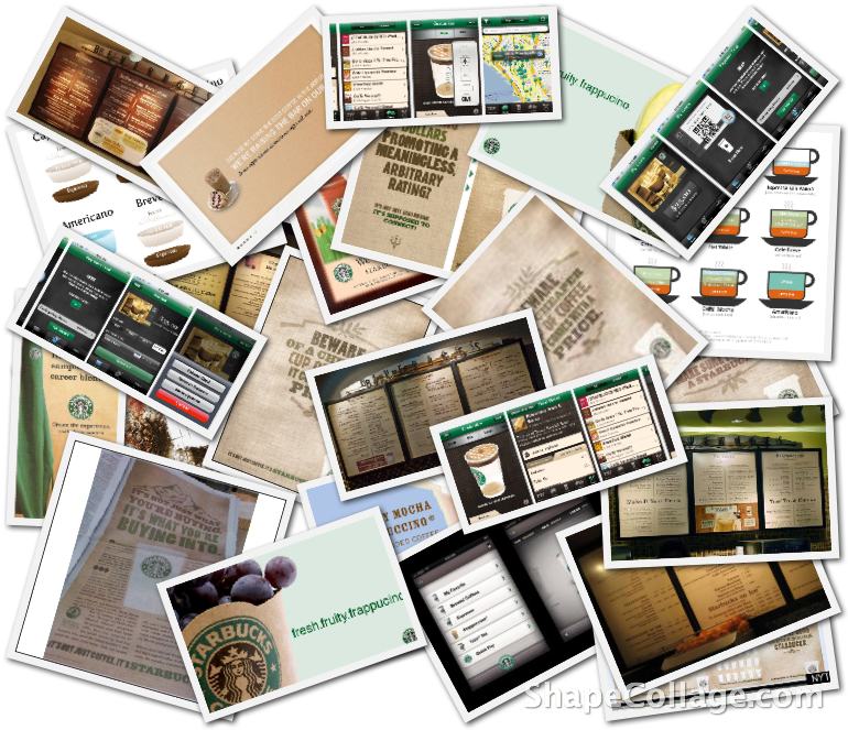Starbucks Ads and Interfaces