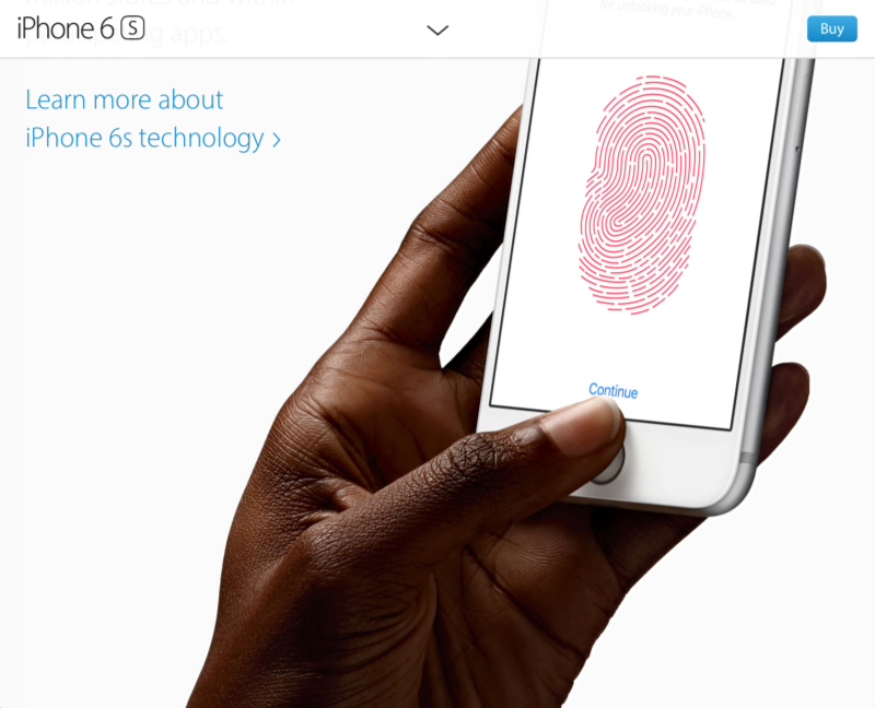Hey! People like me are totally securing their phones via fingerprint!