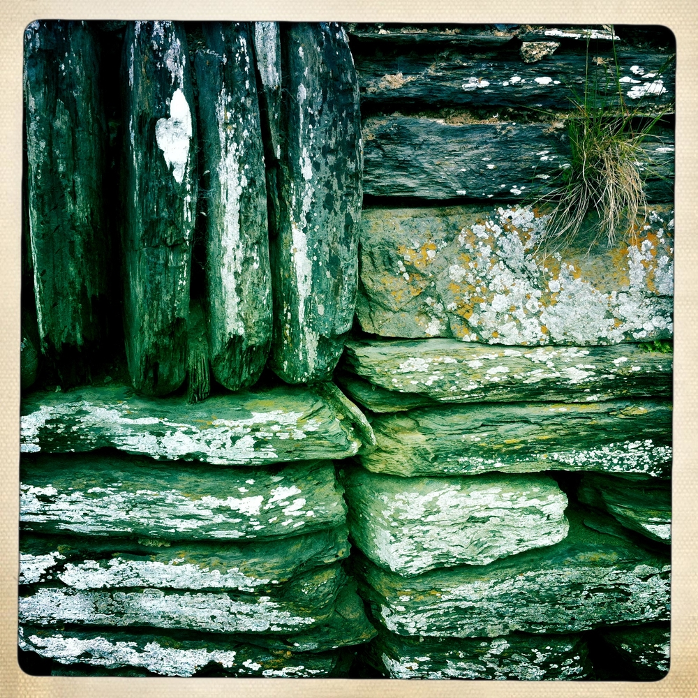 A Wall on the Pembroke coast
