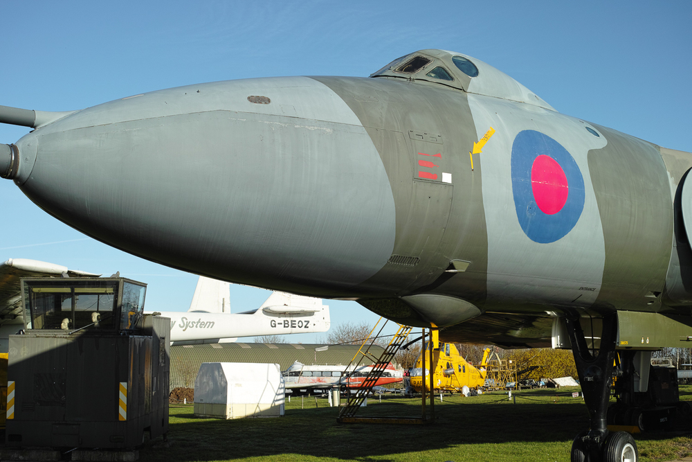 Vulcan Bomber XM 575 - Retired.