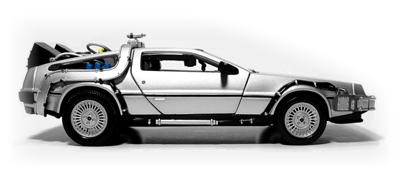 Future Shock The Stainless Steel DeLorean  - with 'Back to the Future' Pack (optional extra when launched)