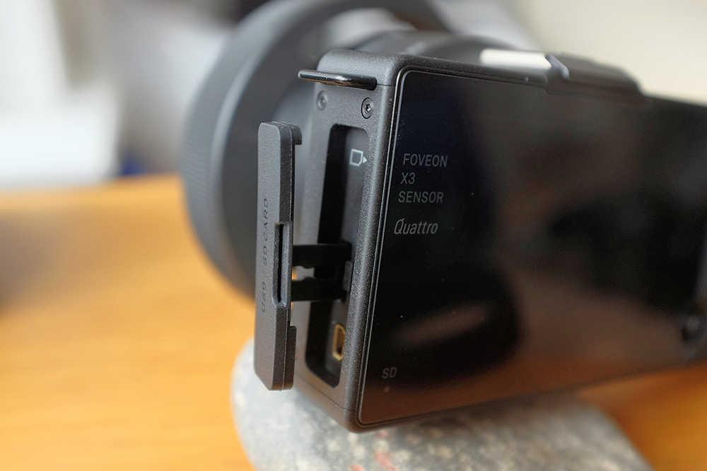 SD Card and USB Cover 'flap' on a £900 Camera?