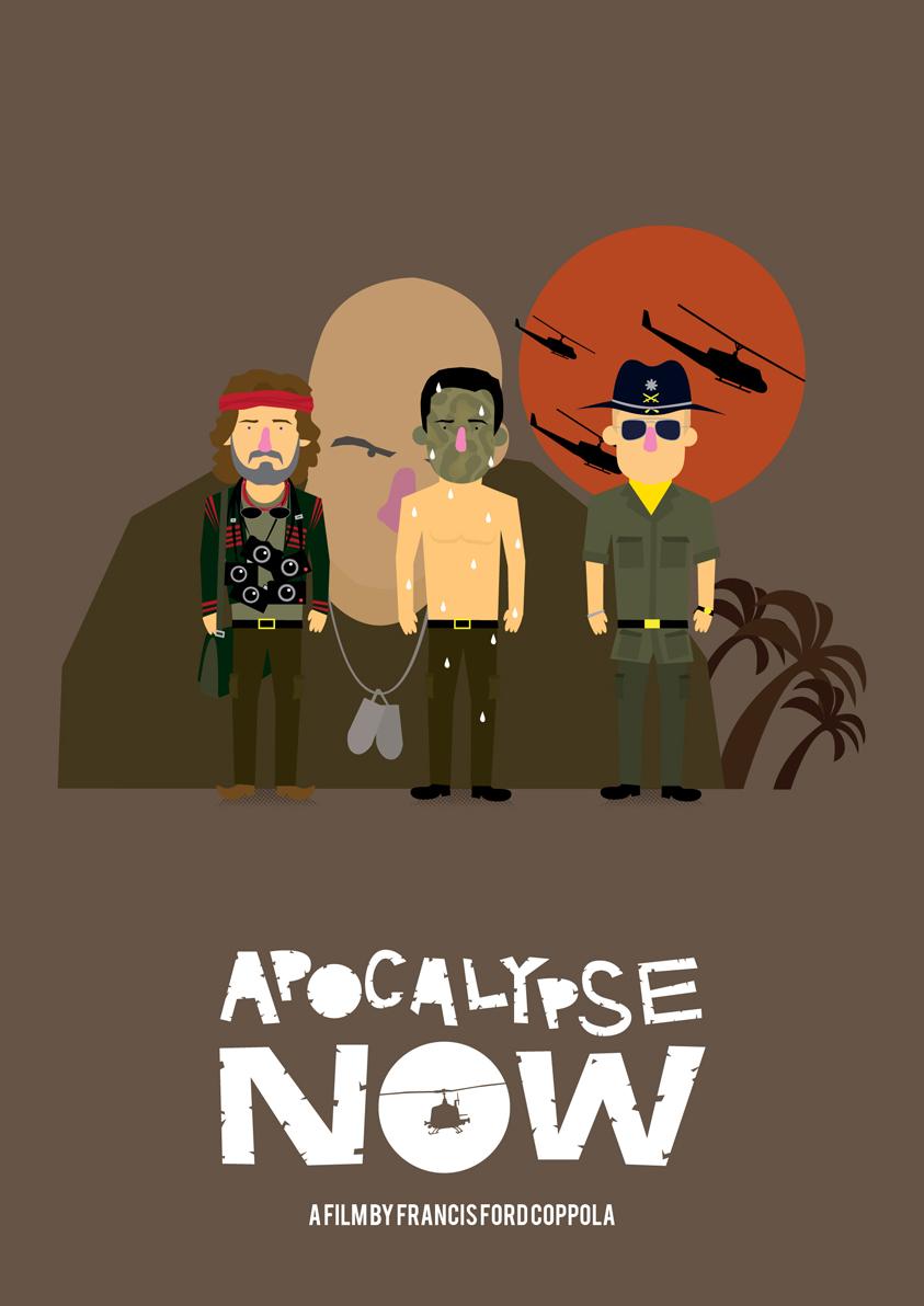 Apocalypse Now poster by Olaf Cuadras