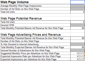 create a banner ad plan