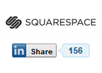 Installing the Squarespace LinkedIn Share button