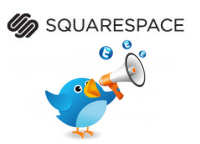 Twitter and Squarespace