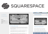Squarespace on mobile and desktop websites