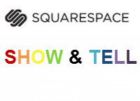 February Squarespace Website Show & Tell