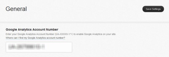 installing Google Analytics on Squarespace
