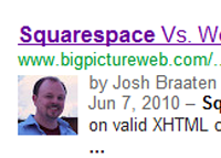 Claiming Google authorship on Squarespace