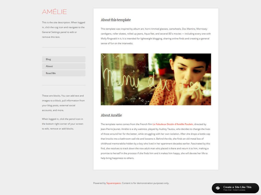 amelie. Black Bedroom Furniture Sets. Home Design Ideas
