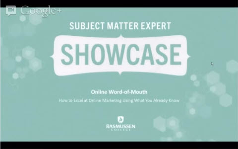 Small Business Online Word of Mouth