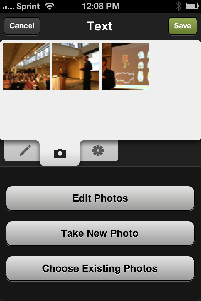 Add photos from your mobile device to your Squarespace blog posts.