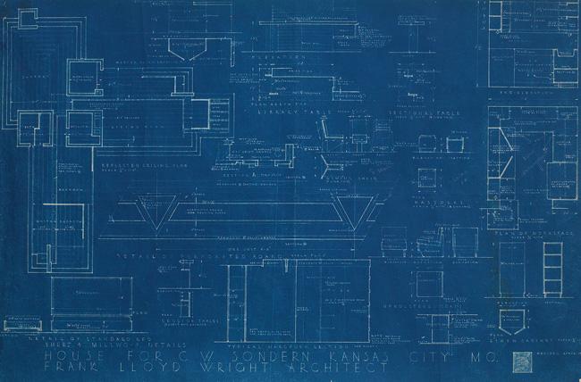Cw sondern house blueprint cw sondern house malvernweather Choice Image