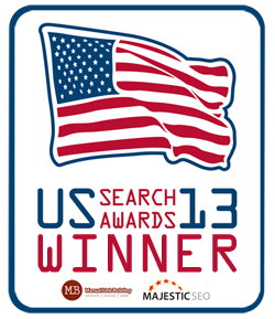 US Search Awards 2013 Winner for Best In-House Search Team