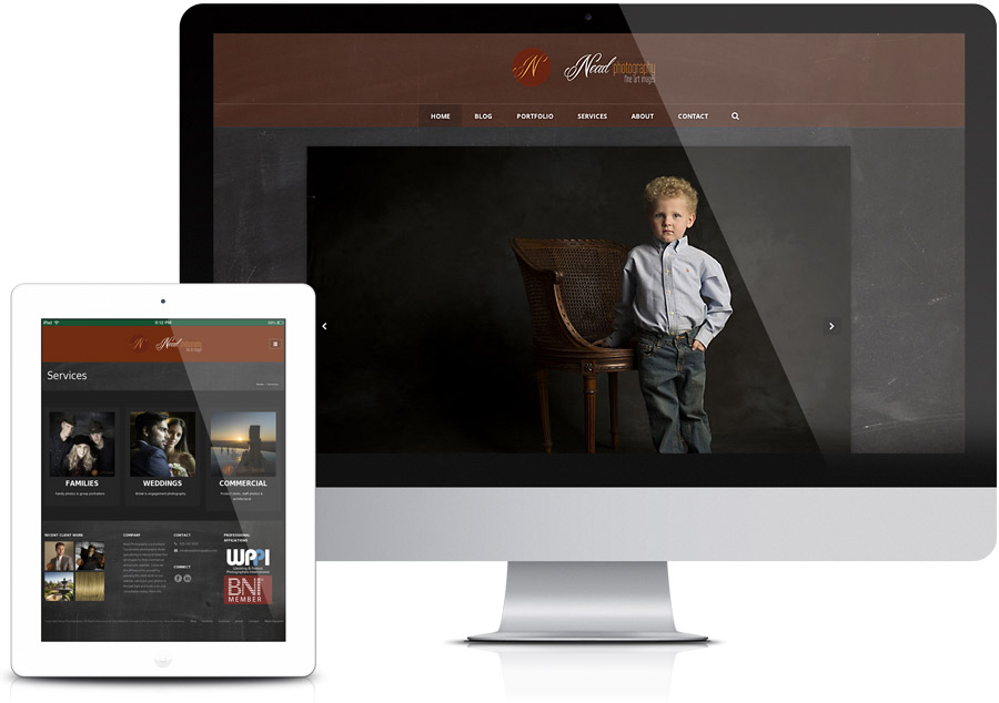 Web Design - Sacramento Photography Studio