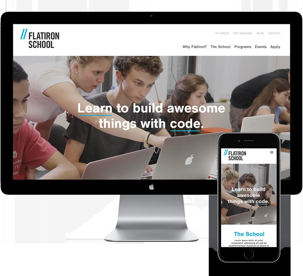 The Flatiron School — Big Human