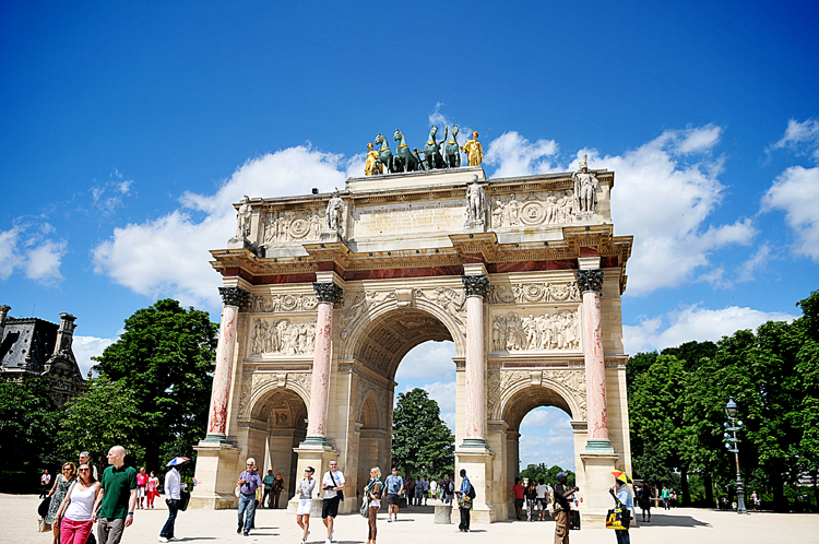 Arc de Triomphe du Carrousel (this is the small one)