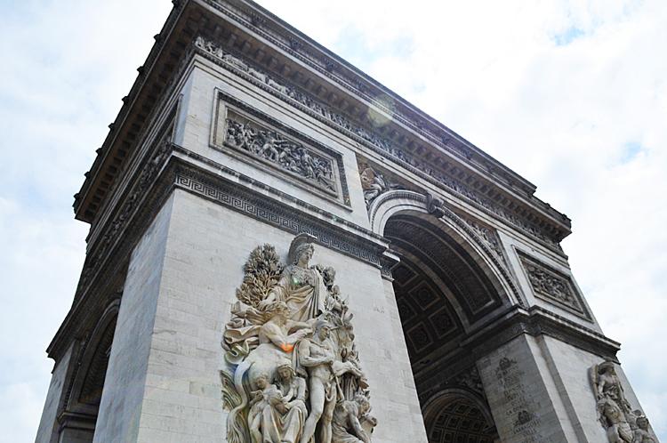 Arc de Triomphe de l'Etoile (this is the big one)