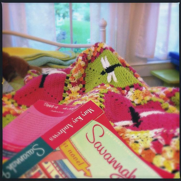 """""""Beach read on a rainy Tybee day"""" by Jen"""