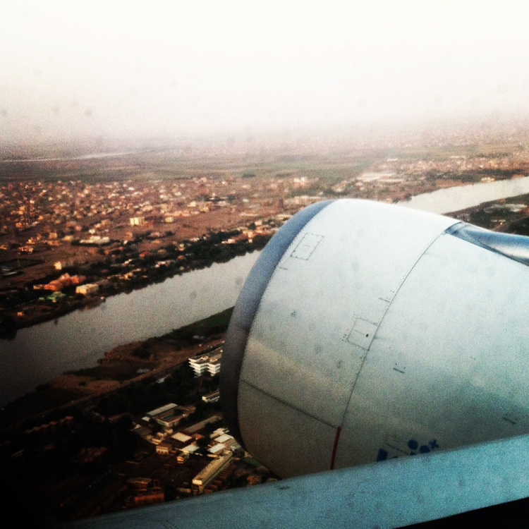 Leaving Sudan