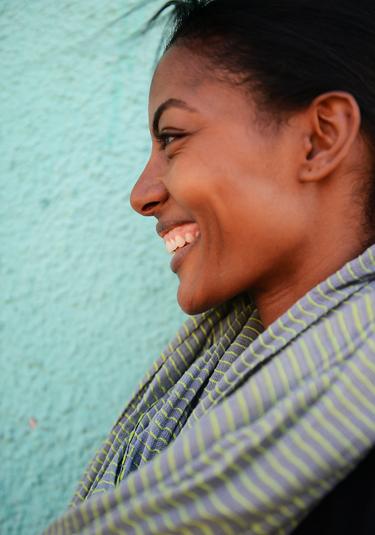 Model Maya Haile Samuelsson
