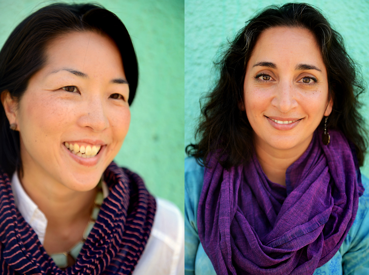 Christine Koh and Asha Dornfest, photographed in Addis Ababa, Ethiopia, October 2012.