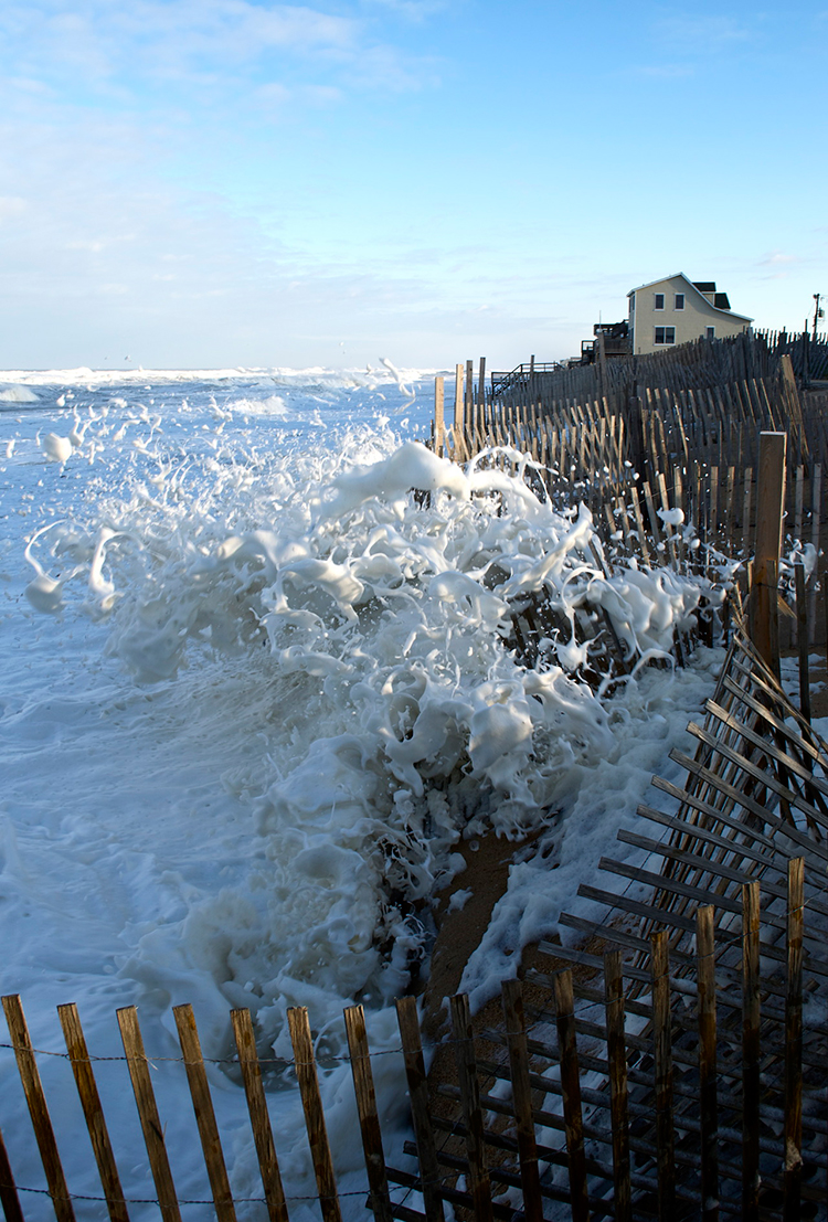 """foamy waves"" by marcela amaya (kitty hawk, north carolina, usa)"