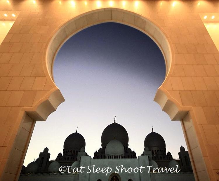 """""""sheik zayed nights"""" by natasha semmence (abu dhabi, united arab emirates)"""