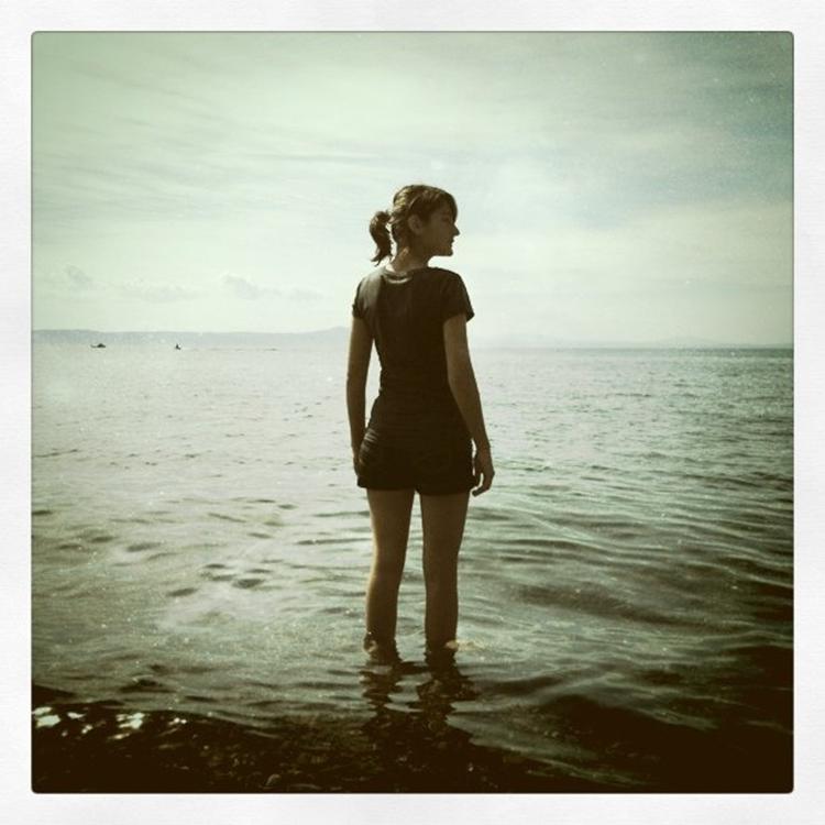 """lauren, lake taupo"" by chontelle sundborn (lake taupo, new zealand)"