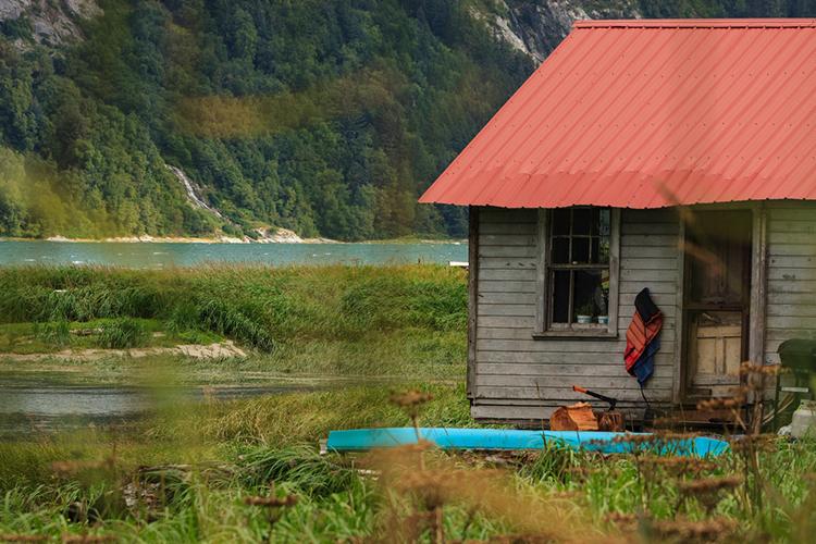 """the prettiest house in haynes,"" by angel houghton (haynes, alaska, usa)"