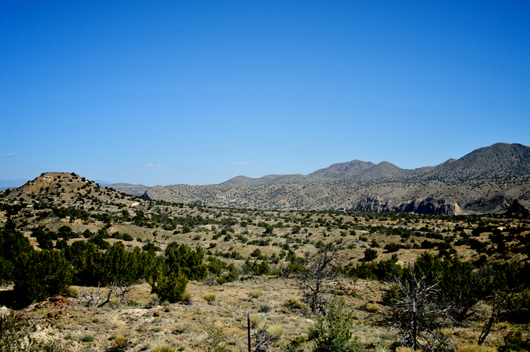 This is actually a photograph of New Mexico from a couple of years ago. We're not going here -- but for now, close enough.