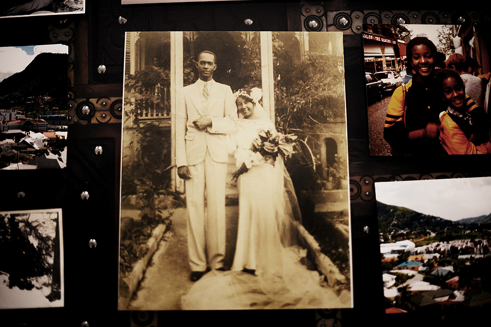Henry & Carmen Alexis, my maternal grandparents, on their wedding day.