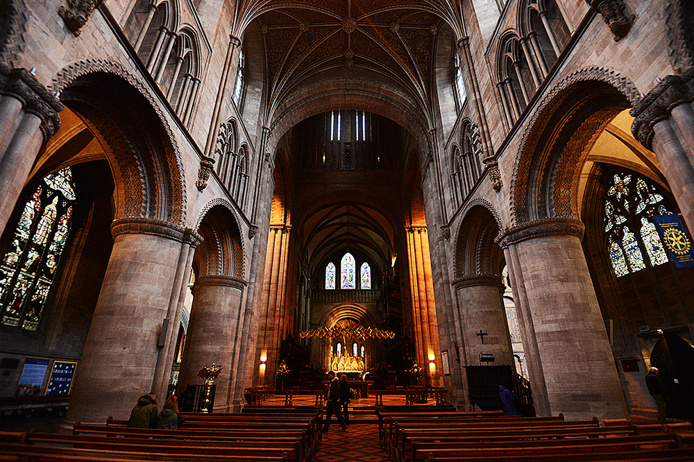 Hereford Cathedral, November 25, 2014